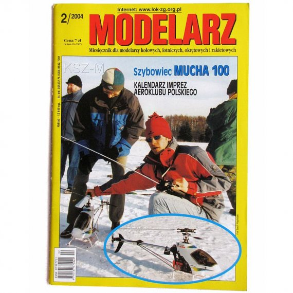 Modelarz 2/2004 - PC-533, SZD-12, Krab, Gladan