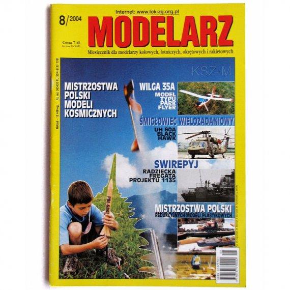 Modelarz 8/2004 - Swirepyj, Black Hawk, S/Y SPRAY