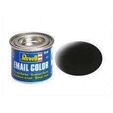 Farba email 08 Black Mat - Czarny matowy - REVELL 32108