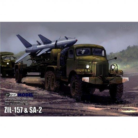 Ził-157 + rakieta SA-2 - Angraf 3/14