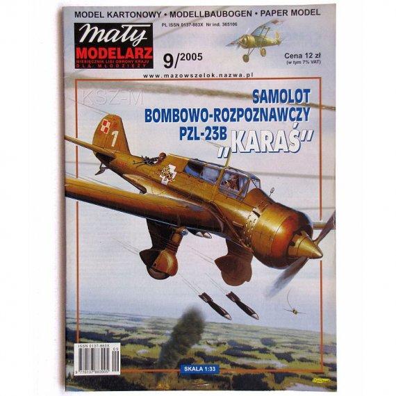 PZL-23 B Karaś - Mały Modelarz 9/05