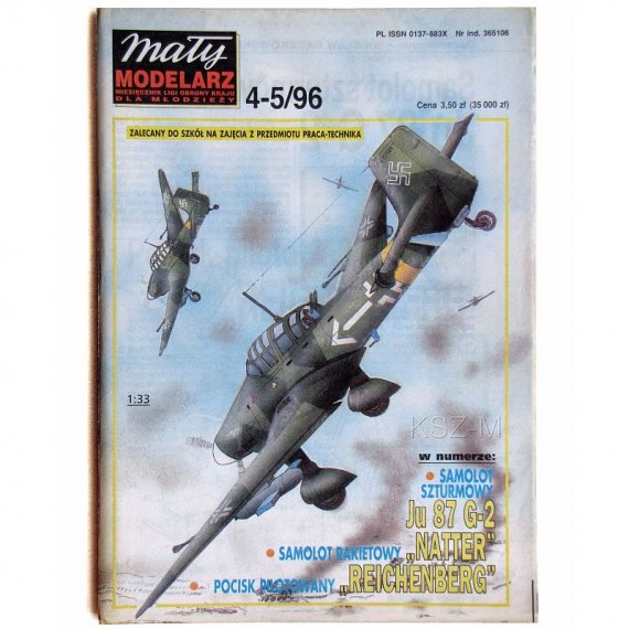 Mały Modelarz 4-5/96 Samolot Ju-87