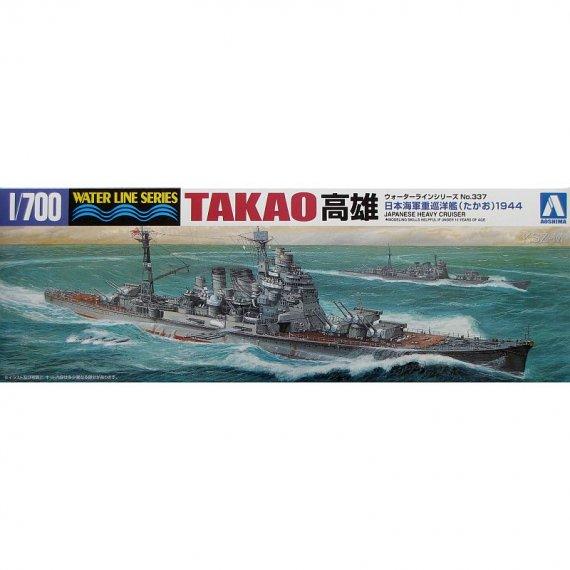 AOSHIMA 337 - Krążownik TAKAO