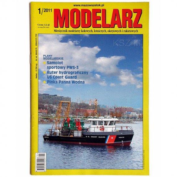 Modelarz 1/2011 - PWS-3, Panna Wodna, Coast Guard