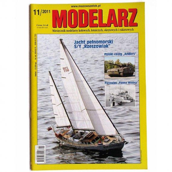 Modelarz 11/2011 - Rzeszowiak, Panna Wodna, Sparviero