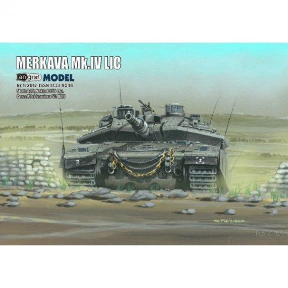 Angraf 1/17 Czołg izraelski Merkava Mk.IV LIC