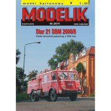 STAR 21 SBM - Modelik 24/11