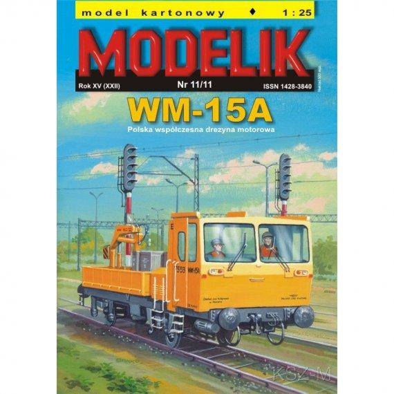 Drezyna WM-15A - Modelik 11/11