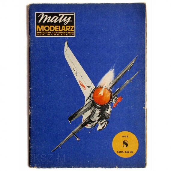 Mały Modelarz 8/75 -MiG-21