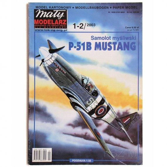 P-51B Mustang - Mały Modelarz 1-2/03