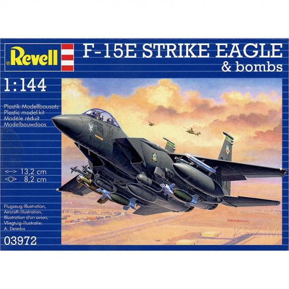 F-15E Strike Eagle & Bombs - REVELL 03972