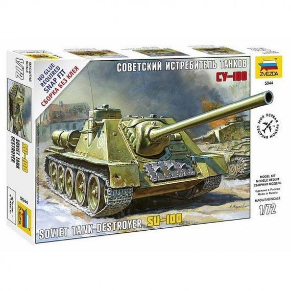 Zvezda 5044 - SU-100 niszczyciel czołgów 1:72