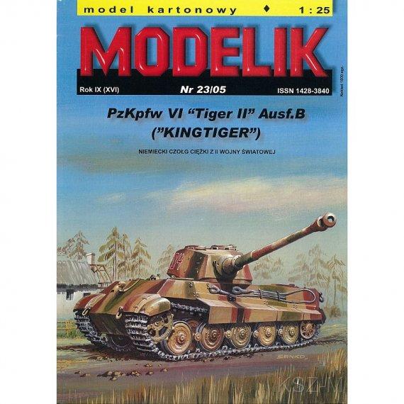 Modelik 23/05 - Czołg PzKpfw VI Tiger II