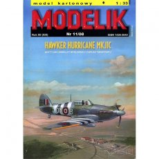Modelik 11/08 - Hawker Hurricane Mk. IIc