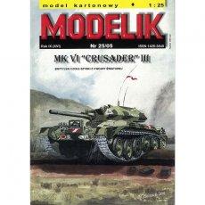 Modelik 25/05 - Czołg Crusader III