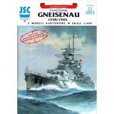 JSC-072 - Niemiecki pancernik GNEISENAU