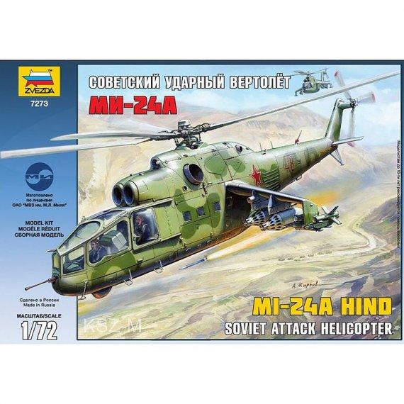 Zvezda 7273 - Mi-24A HIND