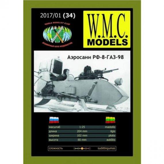 WMC Models 34 - Aerosanie RF-6-GAZ-98