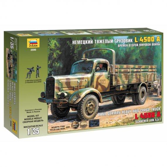 Zvezda 3596 - Ciężarówka Mercedes L 4500A