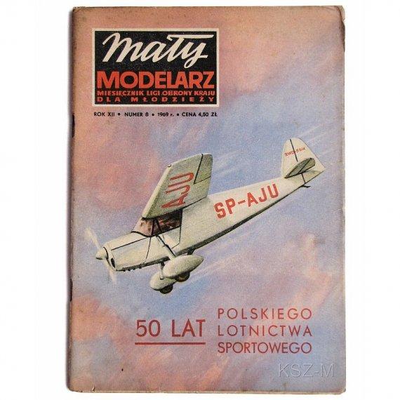 Mały Modelarz 8/69 - RWD-5b samolot turystyczny