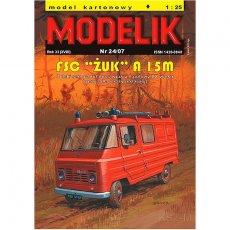 Modelik 24/07 - FSC ŻUK A 15M