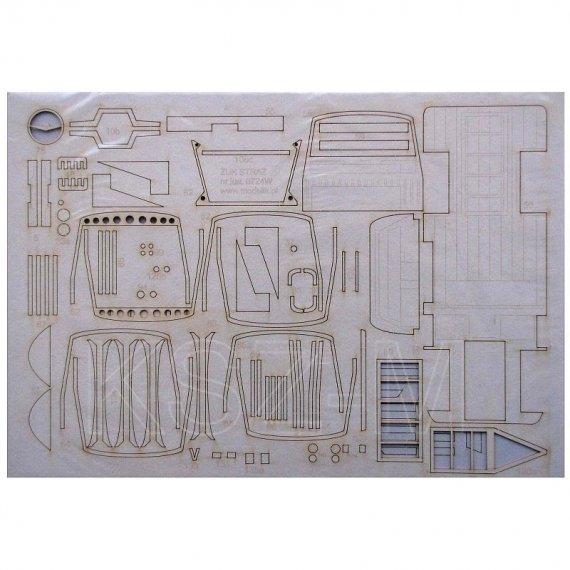 Zestaw laserowy do ŻUK A 15M - Modelik 24/07