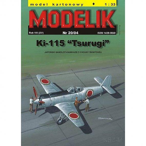 Modelik 20/04 - Ki-115 TSURUGI