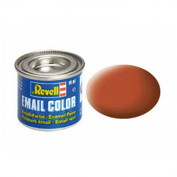 Farba email 85 Brown Matt - REVELL 32185