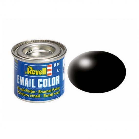 Farba email 302 Black RAL - REVELL 32302
