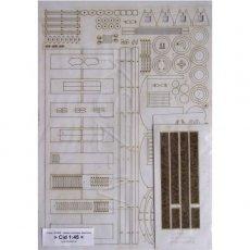 Laser do Modelik 14/15 Cid-21 niemiecki wagon osobowy
