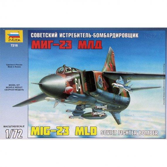 Zvezda 7218 - MiG-23 MLD