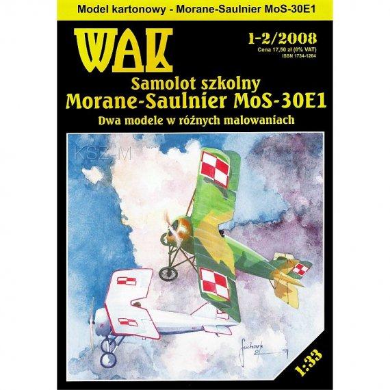 WAK 1-2/08 - Morane-Saulnier MoS-30E1