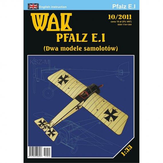 WAK 10/11 - Pfalz E.I  dwa samoloty