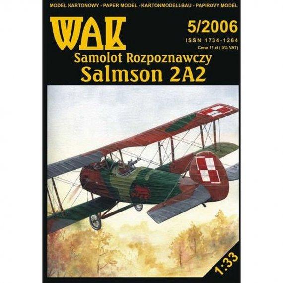 WAK 5/06 - Samolot rozpoznawczy Salmson 2A2