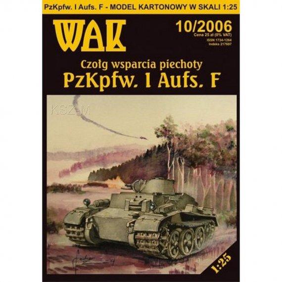 WAK 10/06 - PzKpfw. I Ausf. F (Panzer I)