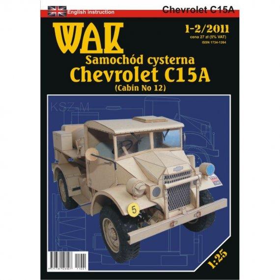 WAK 1-2/11 - Chevrolet C15A samochód cysterna