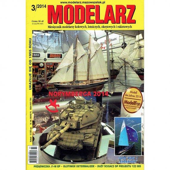 Modelarz 3/2014 - Endeavour, ścigacz proj. 122 bis