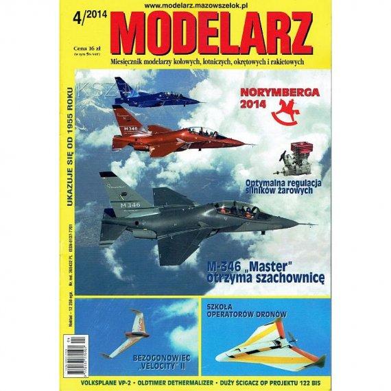 Modelarz 4/2014 - Endeavour, ścigacz proj. 122 bis