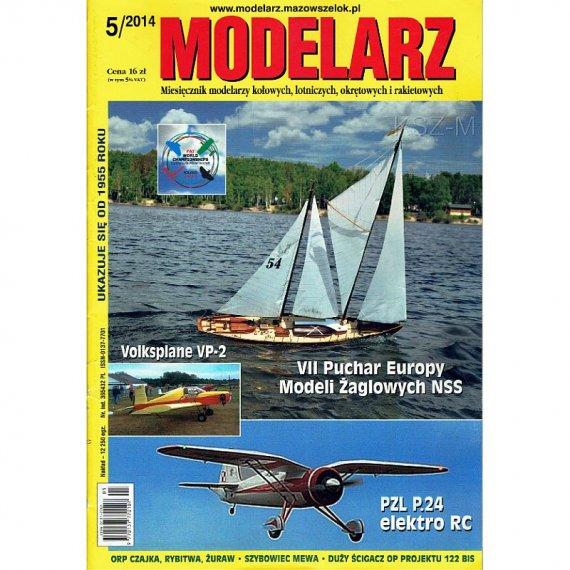 Modelarz 5/2014 - Endeavour, ścigacz proj. 122 bis
