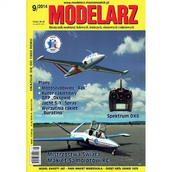 Modelarz 9/2014 - Motoszybowiec BĄK, ORP Oksywie