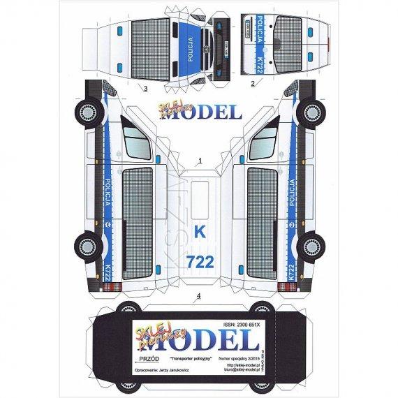 Sklej Model 2/15 - Transporter Policyjny