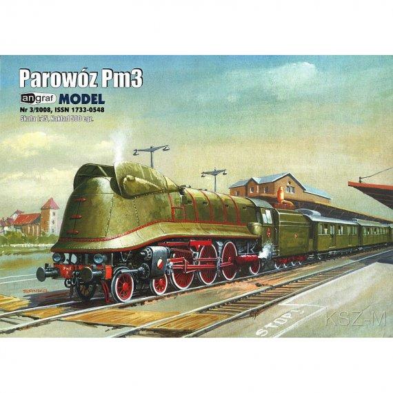 Angraf 3/08 - Parowóz Pm3