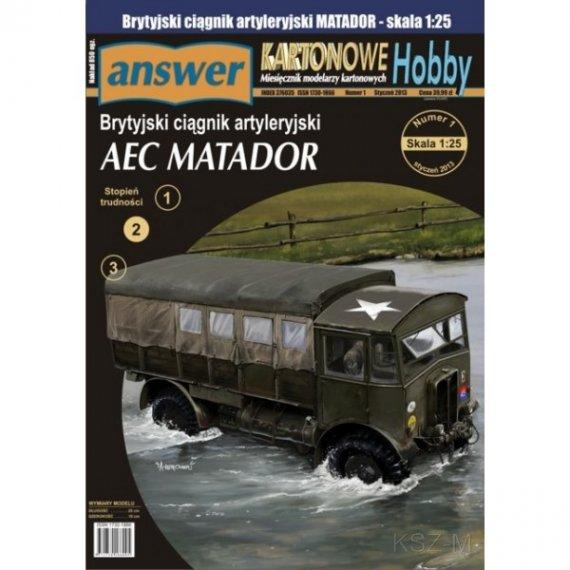 Answer 1/13 - AEC Matador ciągnik artyleryjski