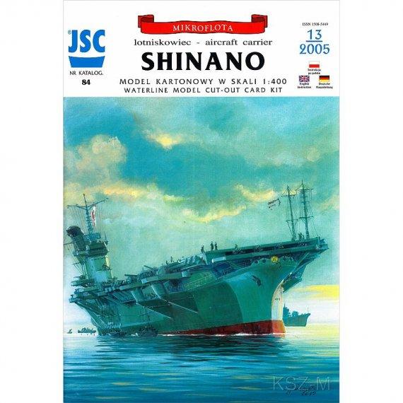 JSC-084 - SHINANO japonski lotniskowiec