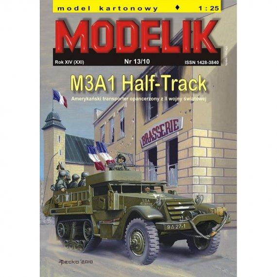 Modelik 13/10 - M3A1 Half-Track
