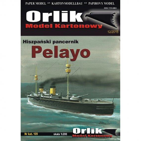 Orlik 109 - PELAYO pancernik hiszpański