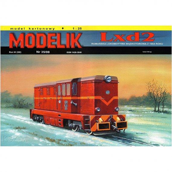 Modelik 35/08 - Lokomotywa LXD2