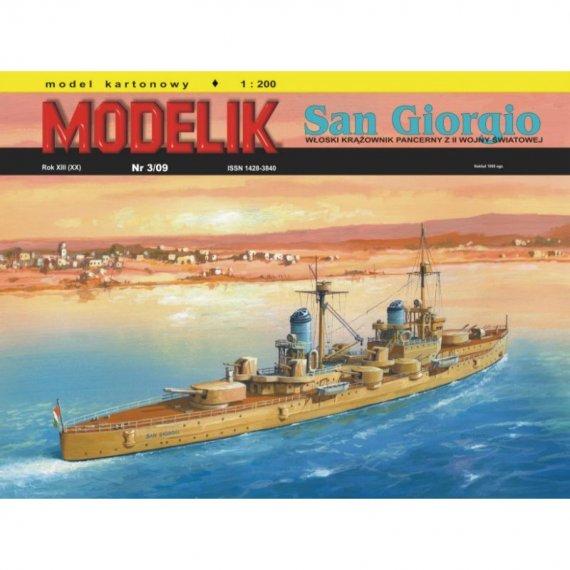 Modelik 3/09 - Krążownik SAN GIORGIO