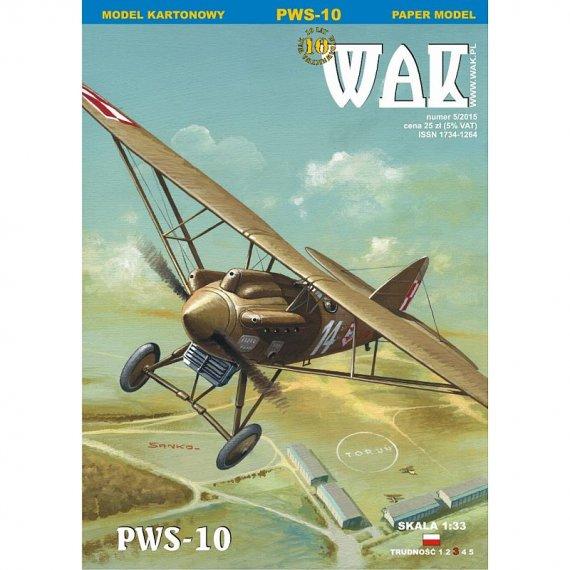 WAK 5/15 - PWS-10 samolot myśliwski