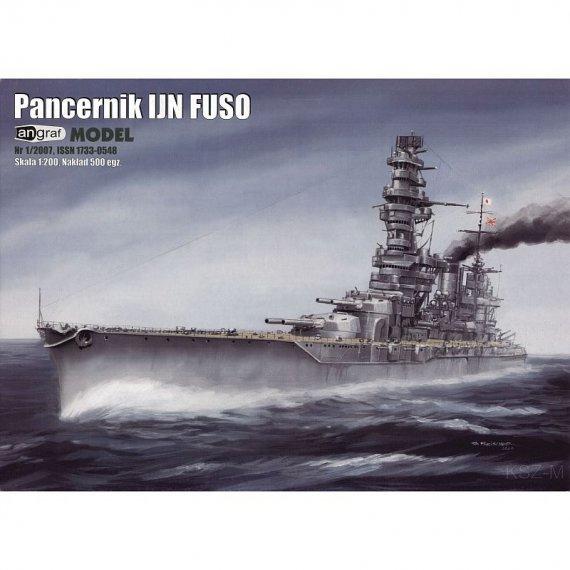 Angraf 1/07 - FUSO japoński pancernik
